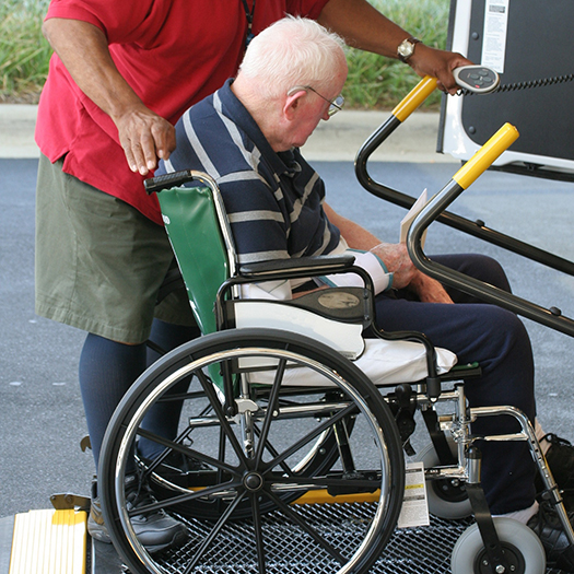 Transportation and errand running support for in home care for seniors